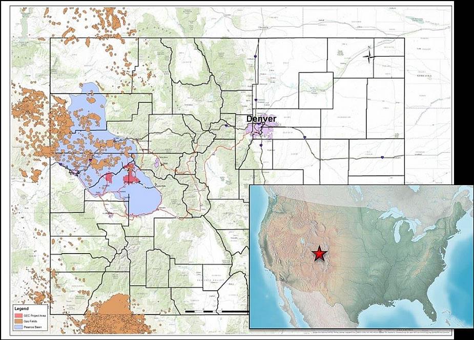 Gunnison County Colorado Map.Gunnison Energy Llc Gunnison Energy Llc An Oxbow Company