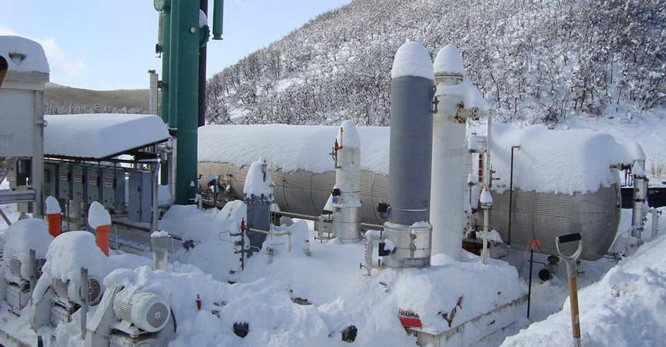 Ragged Mountain Compressor Station